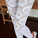 Womens Fashion Sexy Skull Mesh Hollow Out Legging Pants