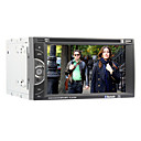 6.2 inch 2 Din Universal Car DVD Player Support BT,RDS,Touchscreen