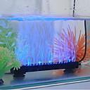 6inch Acuario azul y blanco de luz LED Lighting Difusor Bubbler