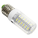 E27 6W 42x5730SMD 420LM 6000K Cool White Light LED Corn Bulb(AC 220-240V)