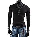 Mens Casual Fashion V Neck T-Shirt