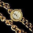 dos relojes de moda de la cadena de anillo de las mujeres magníficas