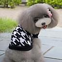 Fashion Classical Grid Design Lovable Sweater For Pets Dogs (Assorted Colors, Sizes)
