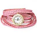 Dare U Popular Wax Cord Braided Diamonded  Adjustable Watch