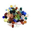 100g de colores Piedras de Cristal de decoración del tanque de pescados de la decoración
