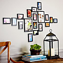 Modern Style Photo Wall Frame Collection - Set of 18