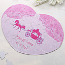 Corazón en forma personalizada Jigsaw Puzzle - Carriage Pink
