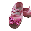 Womens Fabric Upper Bowknot BalletPractice Shoes Dance Shoes Sandals Flats (More Colors)