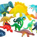 Acción juego 11 dinosaurios paquete modelo calcula el juguete
