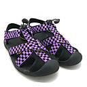 Image For Quiksilver Women's Beach Sport Plaid Pattern Purple Sandals