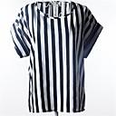 Womens Short Sleeve Print Shirt