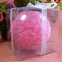7cm Rose Spherical Smokeless European Romantic Wedding Lover Love Candle