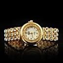 exquisito diamante relojes de moda minimalista magníficos de las mujeres