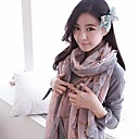 Ms. Korea 2014 New Winter Clock Cotton And Linen Long Scarf Shawl Scarves