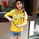 Womens Autumn Letter Code Printing Zipper Hoodie Overcoat (More Colors)