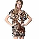 MPK™ Womens Fashion Leopard Print Loose Blouse