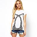animales de la moda patrón de la camiseta de las mujeres southstore 8103