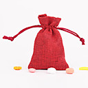 Red Favor Bags - Set of 12