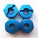 12mm tuerca hexagonal de ruedas de aluminio 4P/set 4p 102042 (02134) HSP 1/10 partes de actualización para rc 4wd Himoto coche 33009