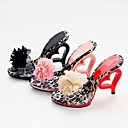 Womens Stiletto Heel Sandals with Flower Shoes(More Colors)