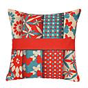 Little Flowers  Butterfly Cotton/Linen Decorative Pillow Cover