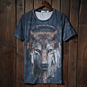 Jogal 3D Animal Print  Series T Shirt(T142 Screen Color)