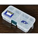 Caja Lure JCB13C Triple-capa Tackle Box (13,8  7,7  3,2 cm)