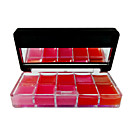 1 uds Not Fade Y impermeable Rampa de degradado de colores Dish Lip Gloss