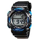Children LED Digital Multifunction Sports Wrist Watch 30m Waterproof