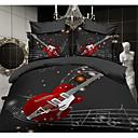 ailianna 4 pieza 3d guitarra conjunto edredón de impresión
