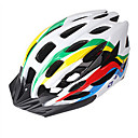 YELVQI 30 Vents EPS  PVC Cinco Colored Integralmente moldeado Casco de Ciclista (54-62cm)