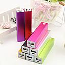 banco de potencia de diseño de cubo para el iphone 6/6 más / 5 / 5s / samsung s4 / s5 / Nota 2 (2600mAh)