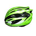 LUNA Ciclismo Verde PC / EPS 31 Vents Un Casco de Ciclista