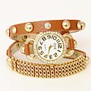 atrevería patente u voluble cuero de reloj ajustable