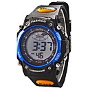 Children Round Dial Multifunction LED Digital Sports Wrist Watch 30m Waterproof (Assorted Colors)