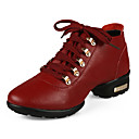 Womens Leathe Upper Ballroom Shoes Sneakers(More Colors)