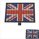 Carking™ Car Windshield Music Control Equalizer Flash Light Sticker-British Flag(2AAA)