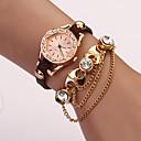 CD Diamonade Chain Fashion Watch(Coffee)