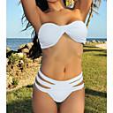 Womens Bandeau Strappy Padded Bikini