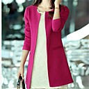 Womens Elegant Design Slim Long Design Trench Coat
