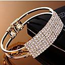 MIKI Elegant Diamante Loacklets Bracelet