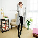 Womens Loose Candy Color Cardigan Knitwear Sweaters
