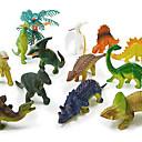 Acción juego 12 dinosaurios paquete modelo calcula el juguete