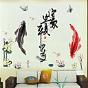 Frankie™ Plant flowers DIY Removable Wall Stickers Dandelion Girl 3D layers
