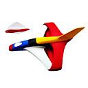 Planeador boomerang eva juguetes de dardos 2 paquete de los niños al aire libre (color al azar)
