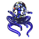 Cute Glass Octopus for Fish Tank Decoration