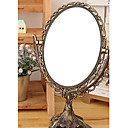 1 de las PC de bronce Ellipse Y Vintga Tabla Modelo Princesa linda Cosmetic Mirror