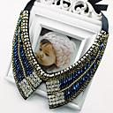 Dotu coreano diamonade lujoso collar vintage jj062