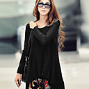 SW Women's Fashion Korean Loose Knit T-shirt
