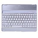 La caja del teclado de aluminio de Bluetooth para el iPad de Apple